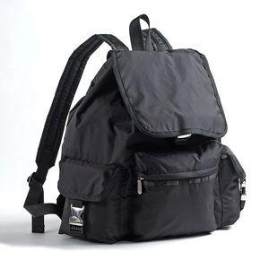LeSportsac voyager backpack black